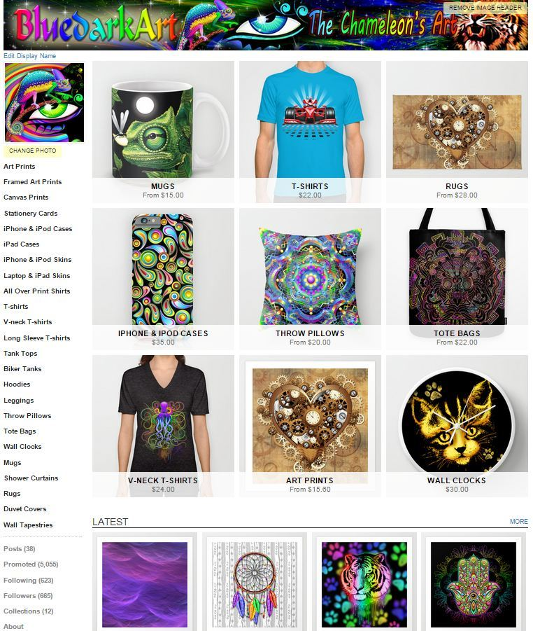 All Over Print Shirts by BluedarkArt | Society6