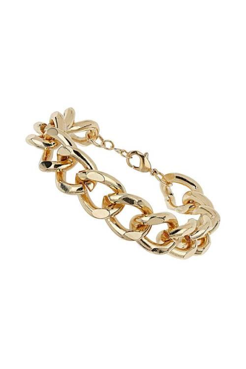 Gold Curb Chain Bracelet