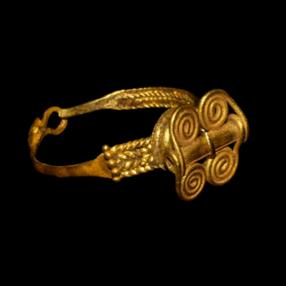 Sumerian Necklace And Ring 2nd Millennium BC A At