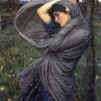John William Waterhouse - Boreas (1903)