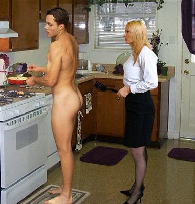 femdom housework ironing