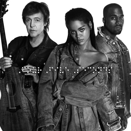 Rihanna, Kanye West & Paul McCartney – FourFiveSeconds Artwork