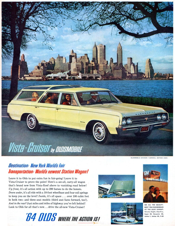 1964 Oldsmobile Vista-Cruiser