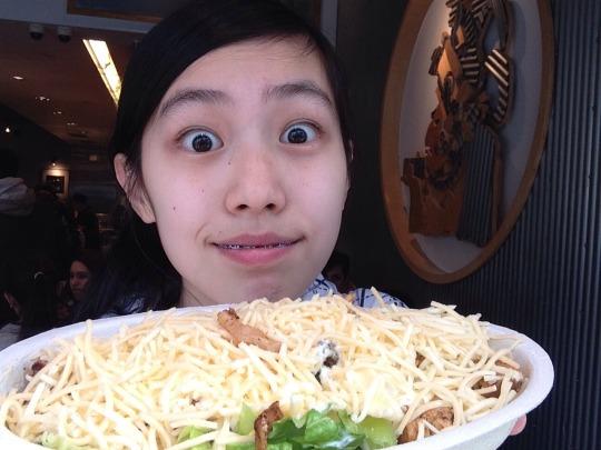 Chipotle Selfie