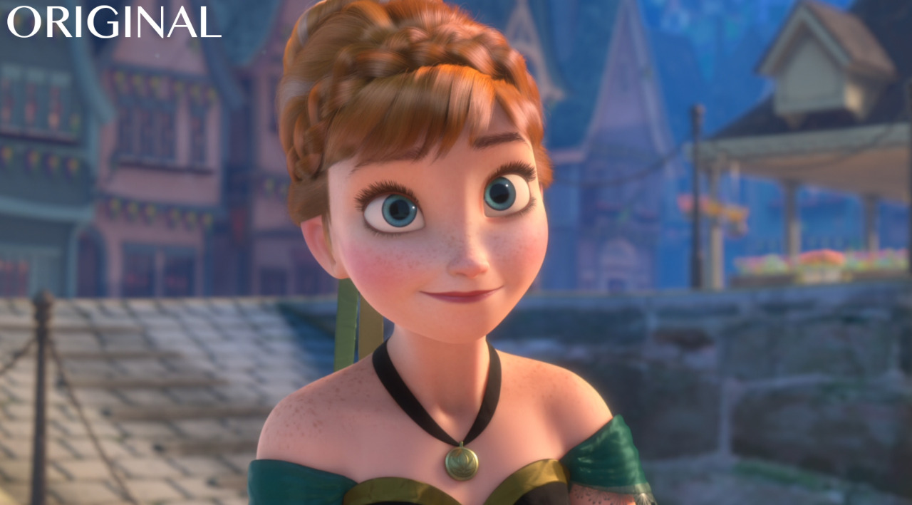 Disney Frozen Princess Anna Disney Edit Frozen Anna Animation Diversity Animation Same Face Thenamelessdoll