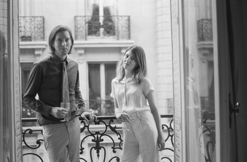 themaninthegreenshirt:  Wes Anderson and Sofia Coppola by Melodie McDaniel