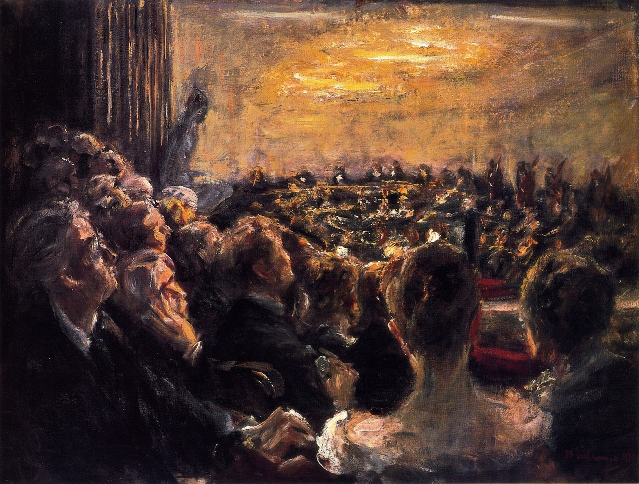 wonderingaboutitall:  Concert In The Opera House - Max Liebermann