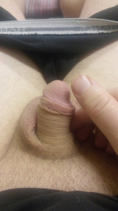 showyourtinydick: Wife says it's not small. I think she's trying to spare my feelings, thoughts? Do you really even have to ask? Some wives are just too … nice?