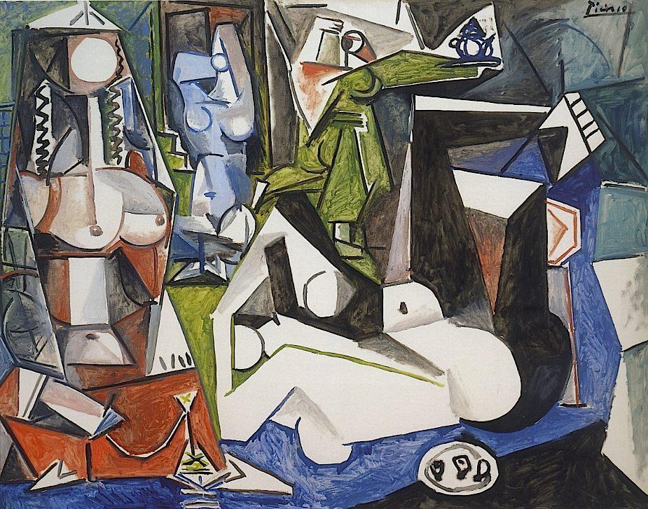 Pablo Picasso Les Femmes d'Alger (d'après Delacroix)1955Mildred Lane Kemper Art Museum (Washington University, St. Louis)