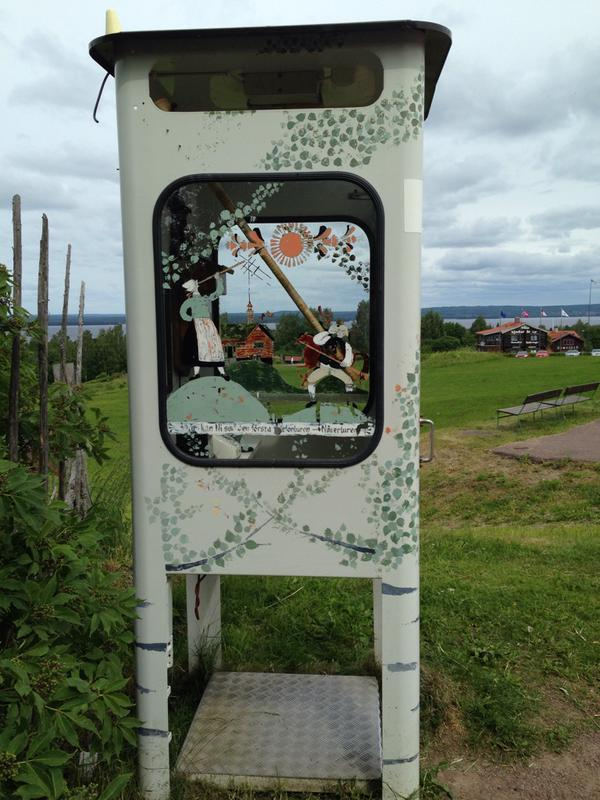 Swedish Phone Booth