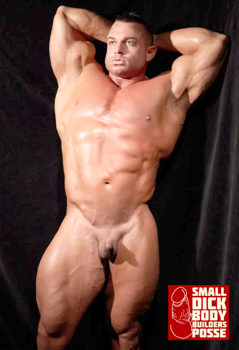 muscular men with small penis