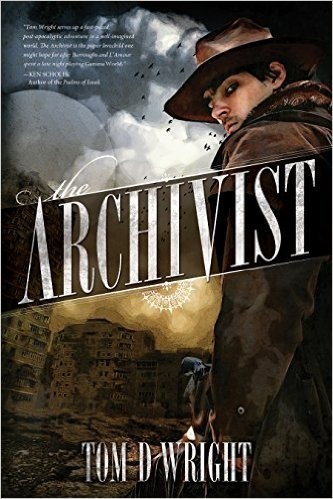 "The Archivist By Tom D WrightReview by Miranda BoyerAs a first time author myself, I get a little more anxious when reviewing books by other newbie writers. I feel that I have to take a little more time to review a book by someone who is in my direct peer group, especially when they deserve the extra time. The Archivist by Tom D Wright was a solid attempt at a first book (although after further research I think it might be his third?). However, in the end it's not really my cup of tea. More often than I care for, the writing is unnecessarily long and overly descriptive, like beating a dead horse with words and more words and more words (<-get it?).  For example: ""I quench my thirst with a pint of thick brown ale that looks like the muddy river we came up, but the cool brew has a nicely rich and smooth taste."" Or this one: ""I am merely cautious as I stand at the entrance, and take my time, loosening my dark oilskin duster while I survey the room."" But than again, maybe this just simply doesn't meet my writing style preferences. I will give the author this much, there is an interesting plot amongst all the extra words and editing choices. I just had a hard time getting to it. The novel felt as though he was trying to hard to show me a story and forgot to tell it. Which ironically enough is the extreme opposite of another big no-no in the writing world, telling and not showing. I suppose that pendulum swings to both extremes and somewhere in the middle is where the gold lies. There is adventure, intrigue, and at times it even reminded me of the Librarian. If you're into futuristic dystopian societies with an almost steam punk meets Indiana Jones flair about them… than this book might be for you. It does have some really beautiful cover art and I have to give props to the artist for that, whoever they might be. We can't win them all, for me this will be a pass. I do want to thank my friend over at www.TheSteveStrout.com for the recommendation though. Check out some of his fantastic interviews with authors, actors, artists (the three A's of Awesome) and get caught up on all the latest geeky news."