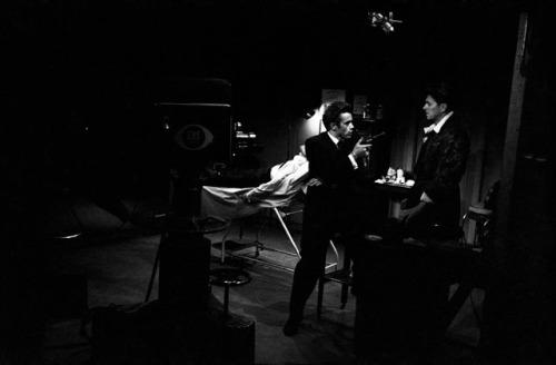 James Dean and Ronald Reagan, 1954