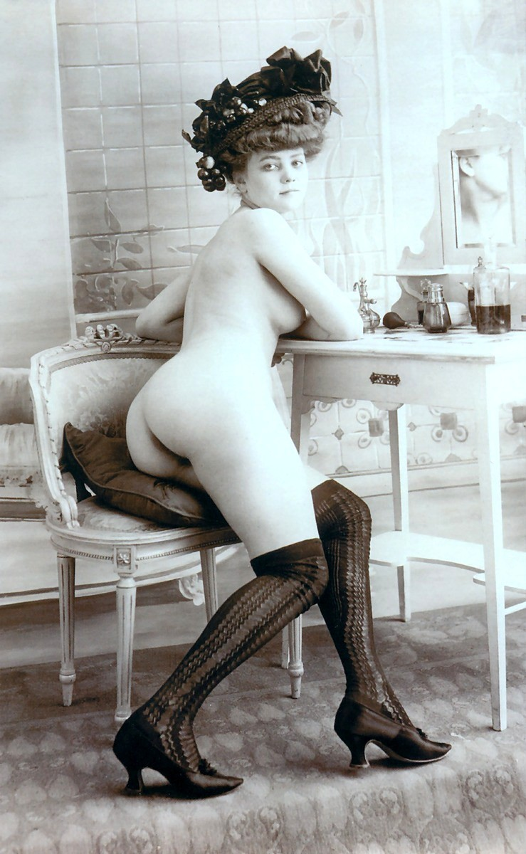 An incredible Victorian derriere.