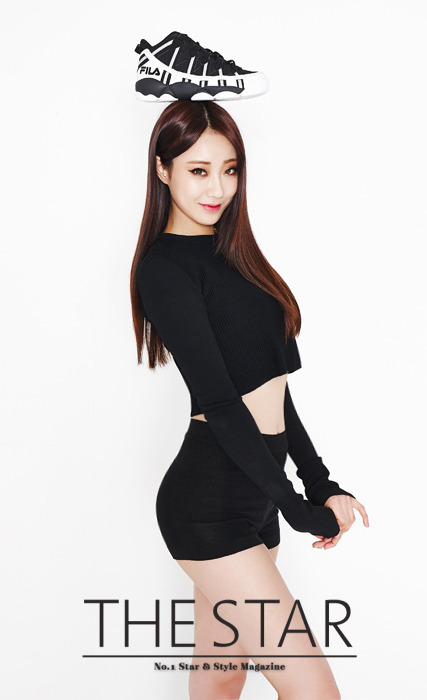 Nine Muses - The Star Magazine April Issue '15