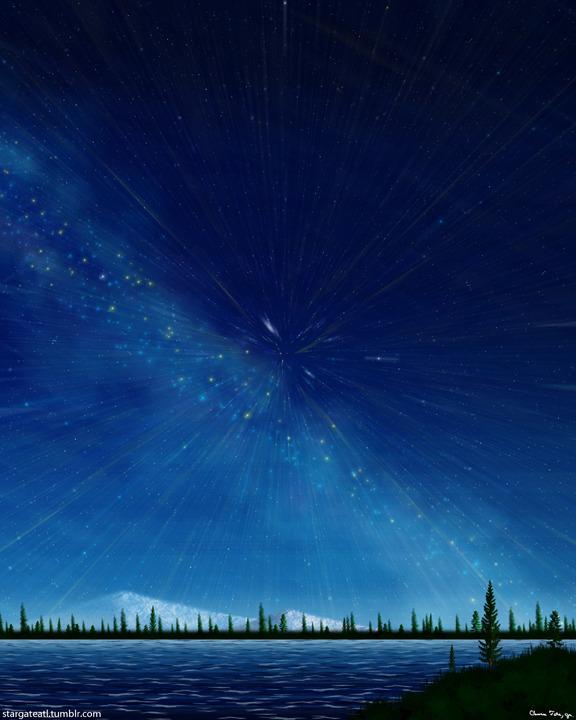 Milky Way Star Trails (Starburst) – Clarence Art