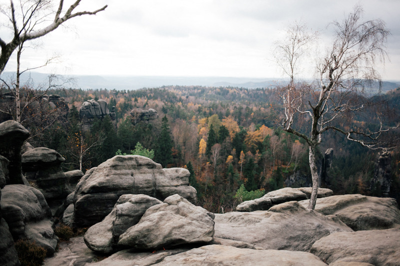 A few months ago we did a hiking trip through the Saxon Switzerland.