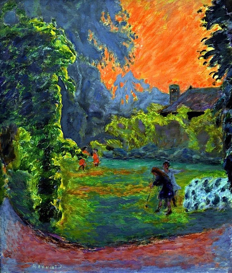 bofransson:  Pierre Bonnard - Soleil couchant, 1913- Soleil couchant, 1913