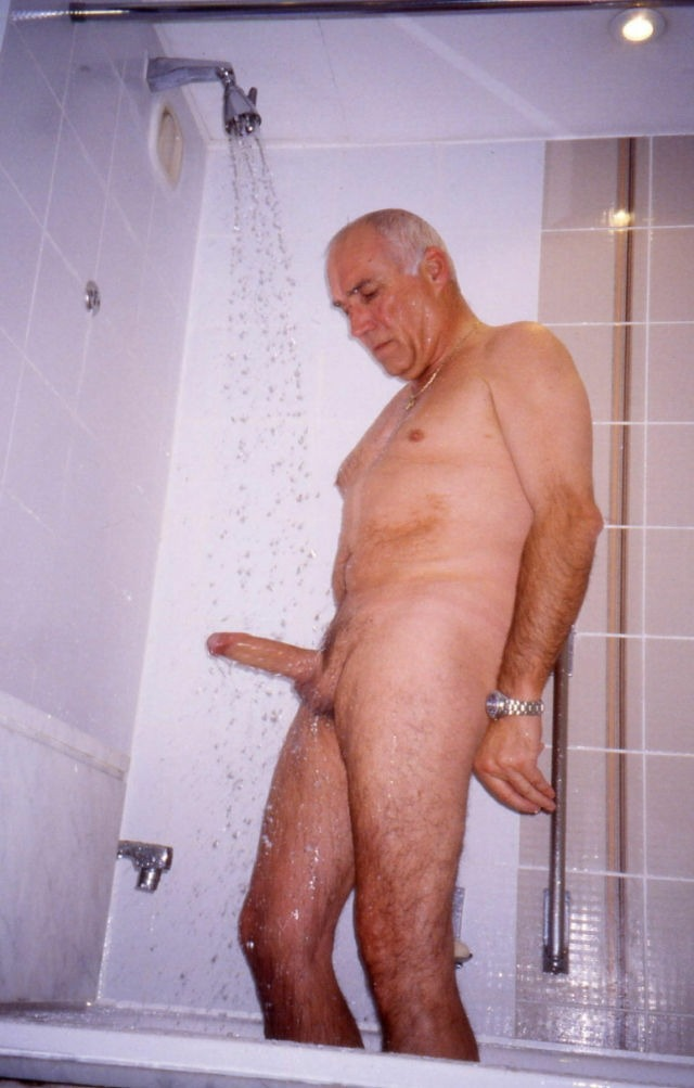 Gay daddy grandpa sex image first time piss