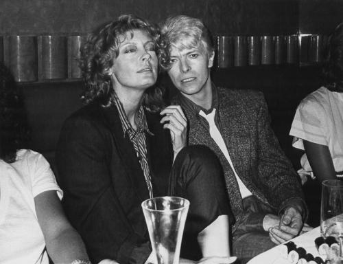 Susan Sarandon andDavid Bowie