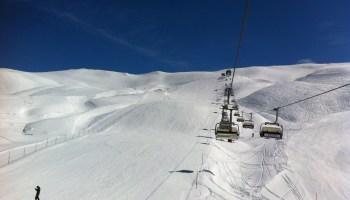 End of ski-season at Melchsee-Frutt