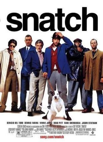 Спиздили,Kapışma,Snatch,Guy Ritchie,Benicio del Toro,Dennis Farina,Alan Ford,Jason Flemyng,Robbie Gee,2000,İngiltere,ABD,104 Dak.,Snatch-Schweine und Diamanten,Snatch:Cerdos y diamantes,Snatch:Porcos e Diamantes,Stephen Graham,Lennie James,Vinnie Jones,Brad Pitt,Rade Šerbedžija,Jason Statham,Imdb Top List,Snatch