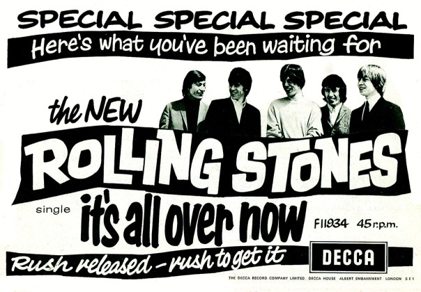 Rolling Stones/Decca Records - published in Record Mirror - June 27, 1964