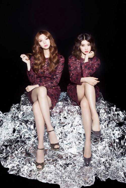 [MAGAZINE] After School E-Young & Kaeun – BNT International 2250x3591