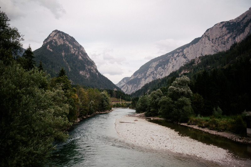 """Last month we were on the road from Germany to Croatia with stops in Austria, Slovenia and Italy. We stayed one night in the beautiful national park called""""Gesäuse"""" before we drove to South Croatia."""