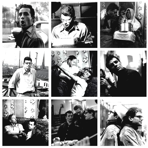 Jack Kerouac, Allen Ginsberg y William Burroughs en los años de Columbia. Fuente: fuckyeahbeatniks.tumblr.com