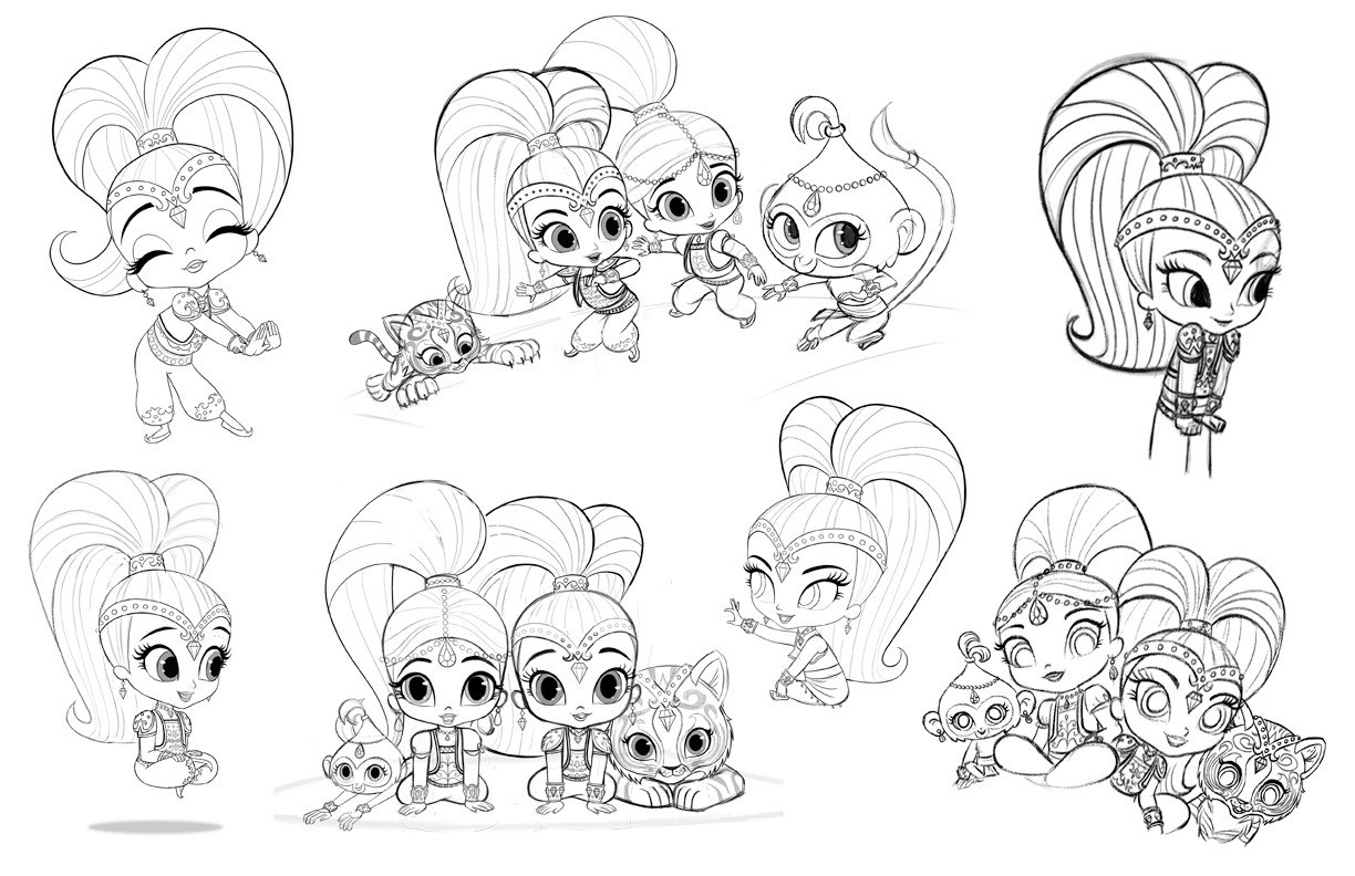 Jociemamacie Nickanimationstudio Shimmer And Shine Your