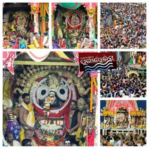 SunaBesha Nabakalebara RathaJatra
