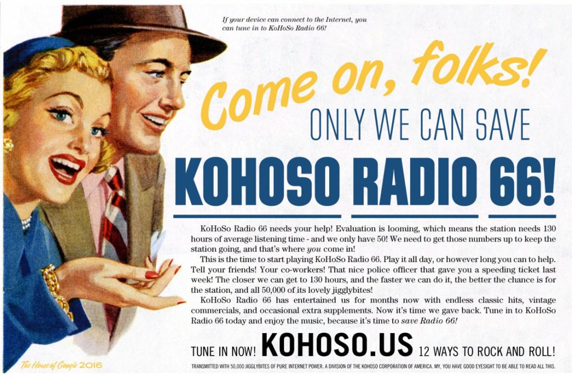 KoHoSo Radio 66 fan art