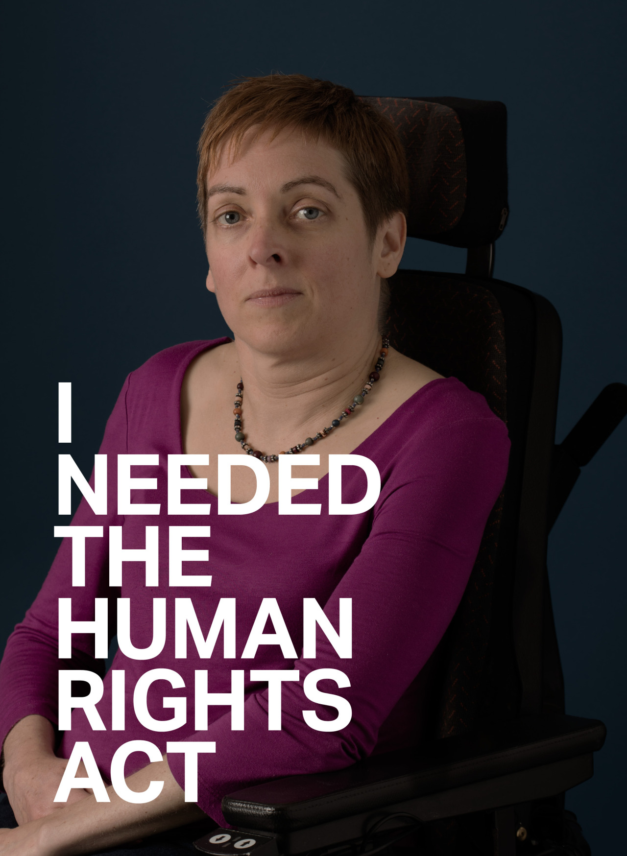 Jan SuttonJanwas left in bed all day by her carers. The Human RightsAct helped her get her dignity back.