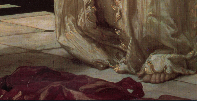 Frederic Leighton, Light of the Harem, ca. 1880
