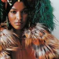 The Model Liya Kebede