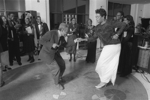 Amiri Baraka and Maya Angelou
