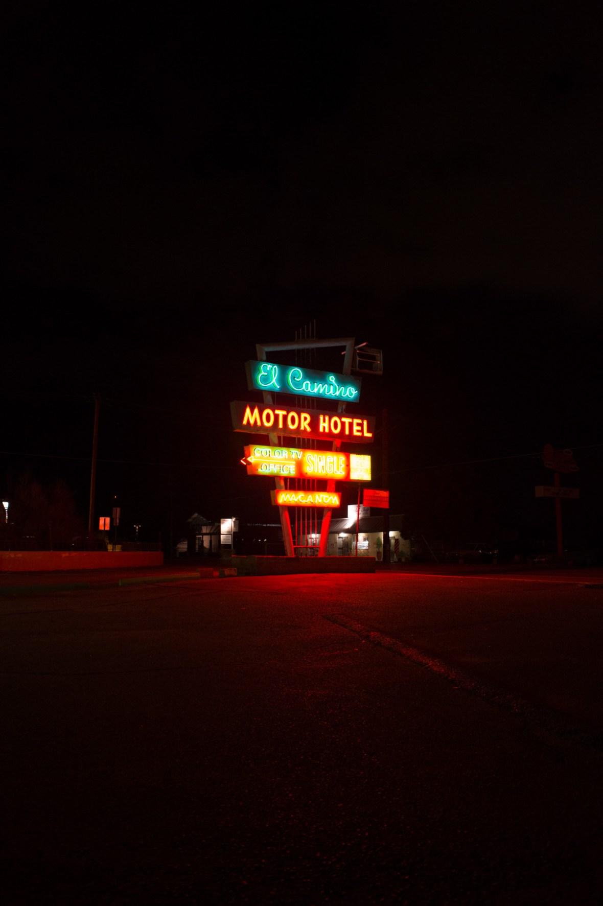 El Camino Motor Hotel - 6801 4th Street NW, Albuquerque, New Mexico U.S.A. - 2015