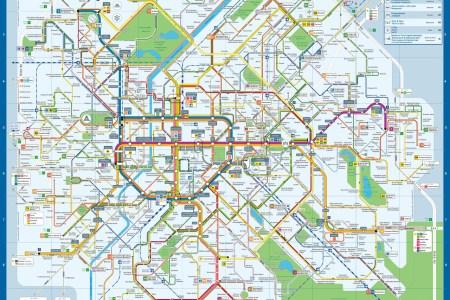 Download ePub PDF Book » map brussels centre