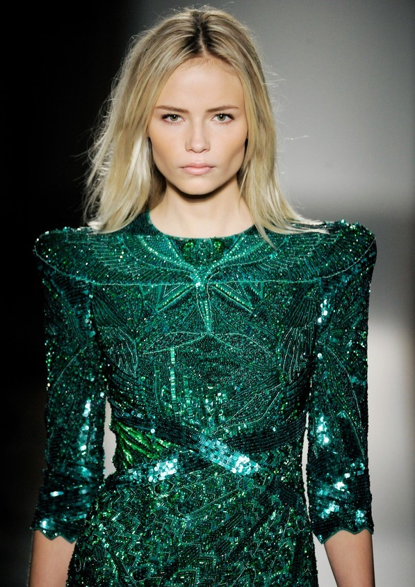 natasha poly at balmain ss 2009