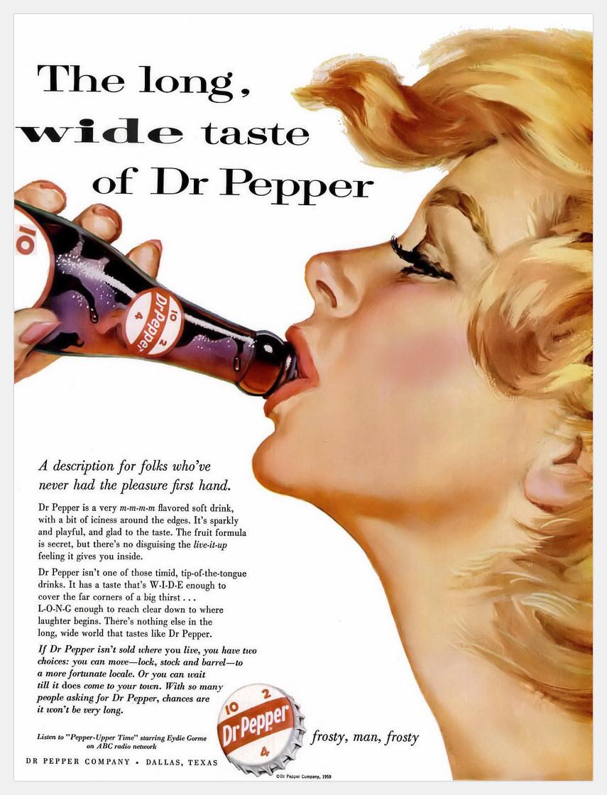 Dr Pepper Company - 1959