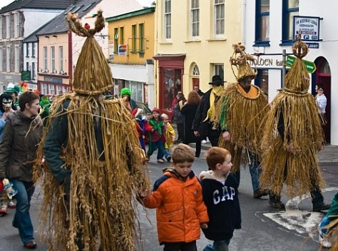 Wren Day traditions in Dingle, Ireland.