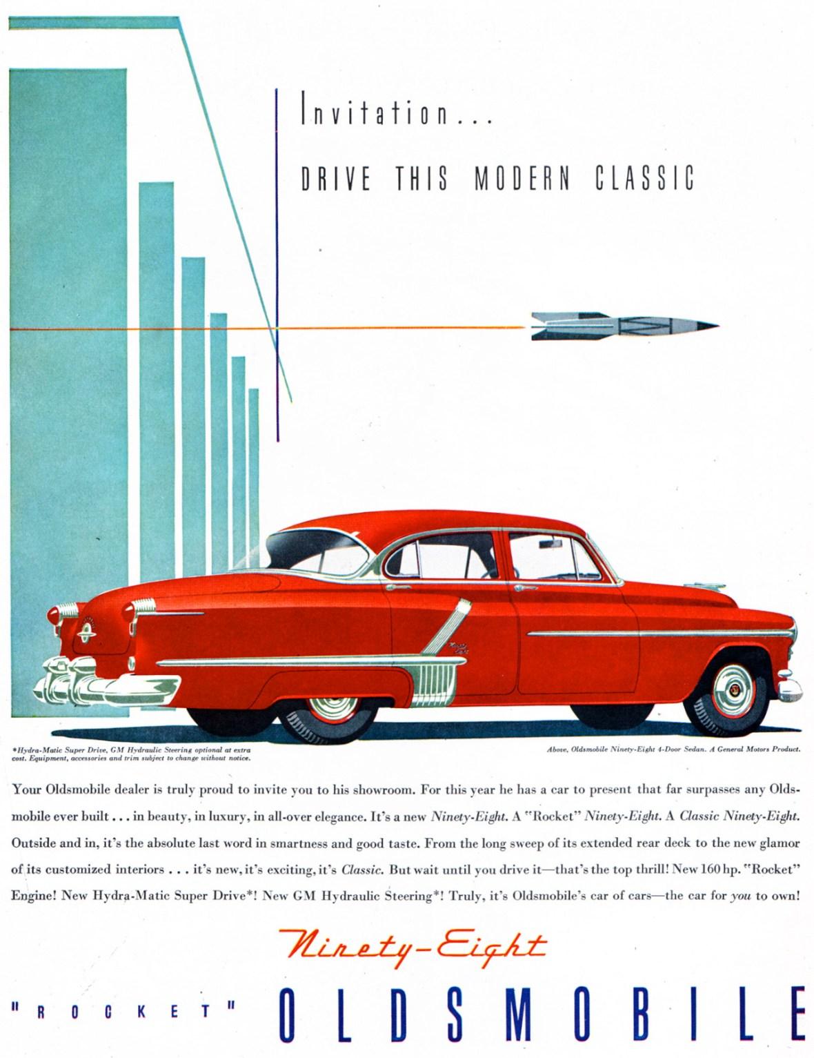 1952 Oldsmobile Ninety-Eight 4-Door Sedan
