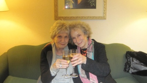 Alice Munro and Margaret Atwood