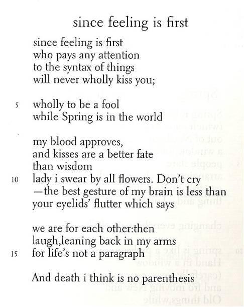 Eecummings Poems 5