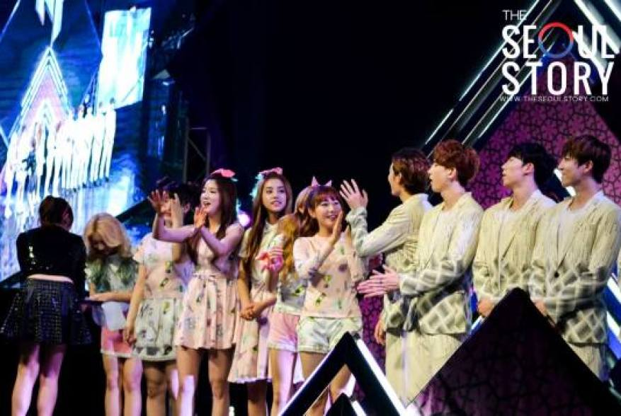 PHILIPPINES] U-KISS and Laboum at KISPINOY Grand Launch