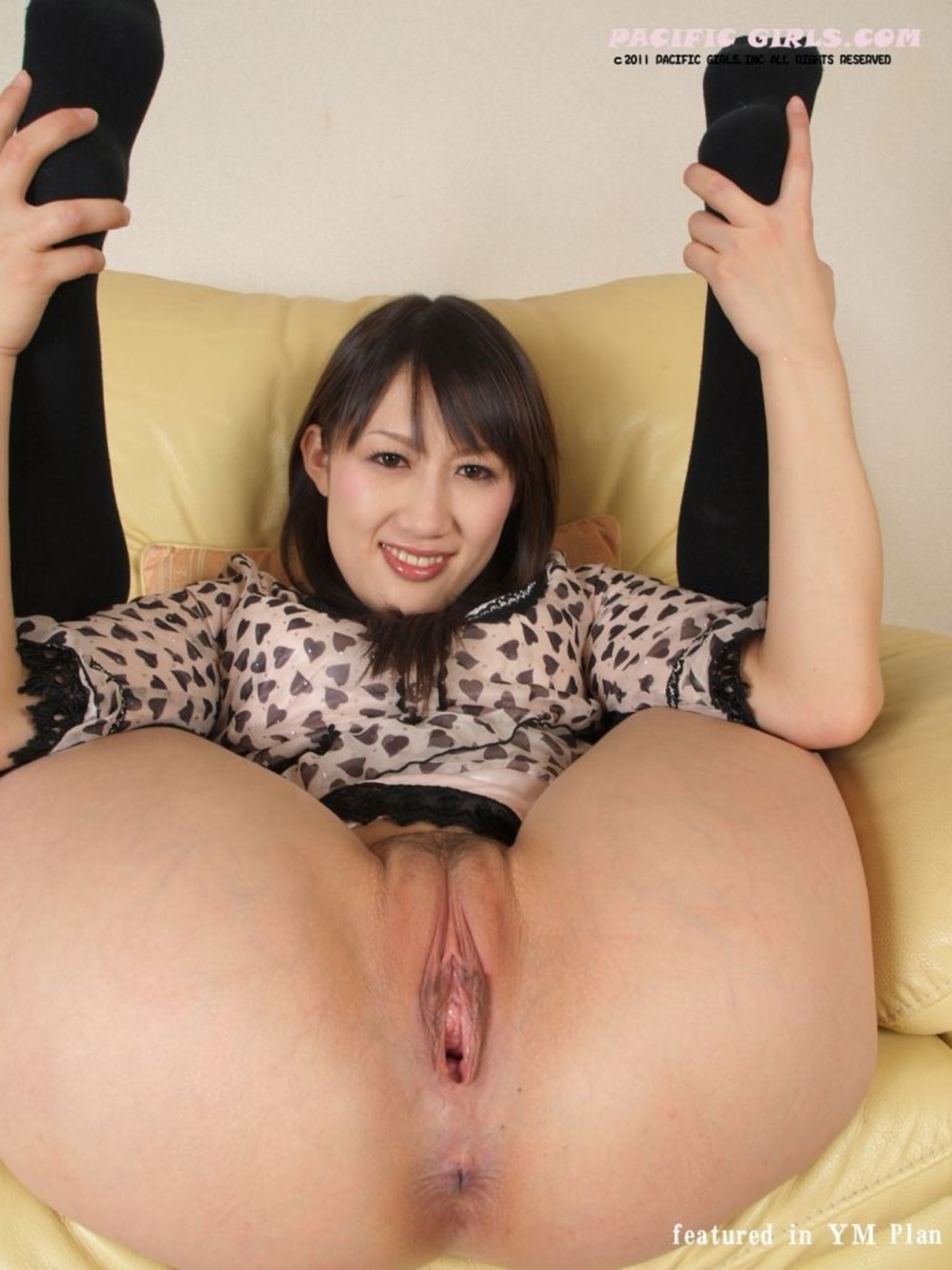 Special Pacific girls with stocking spread pictures