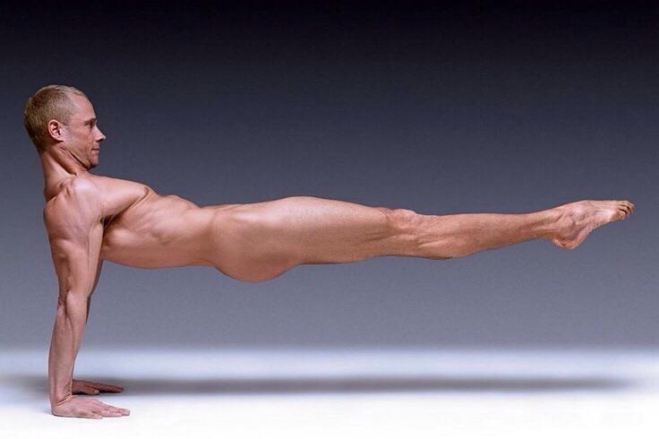 naked gymnast