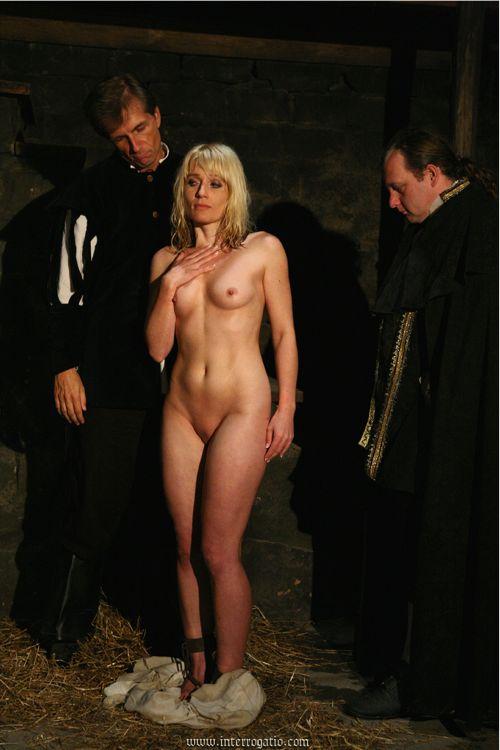 Slave girl inspection