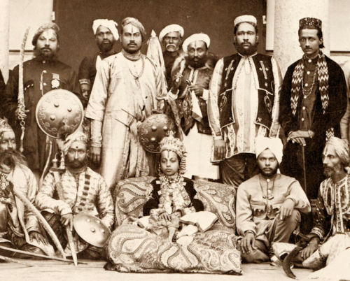 Raja Lala Deen Dayal , 1880